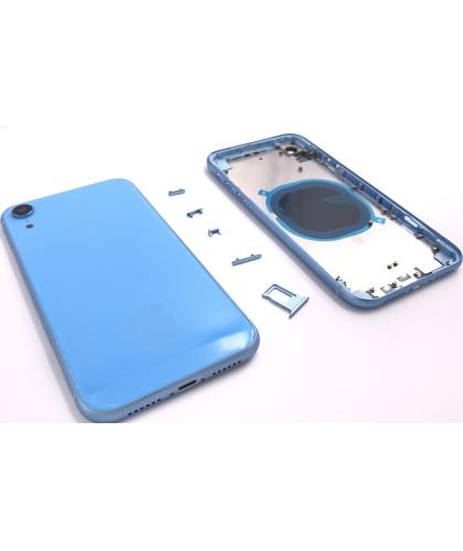 Chasis + Tapa Para Apple Iphone XR Azul