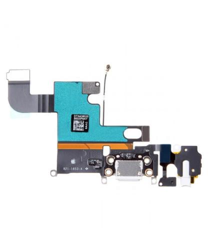 Flex + conector Dock Carga Para Apple iPhone 6 Negra