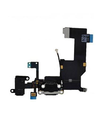 Flex Conector Carga Para Apple iPhone 5S Negra