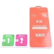 Cristal Templado 9D Para Apple iPhone 11 Blanco