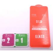 Cristal Templado 9D Para Apple iPhone 11 Pro / X / Xs Blanco