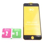 Cristal Templado 9D Para Apple Iphone 6S Plus Negro