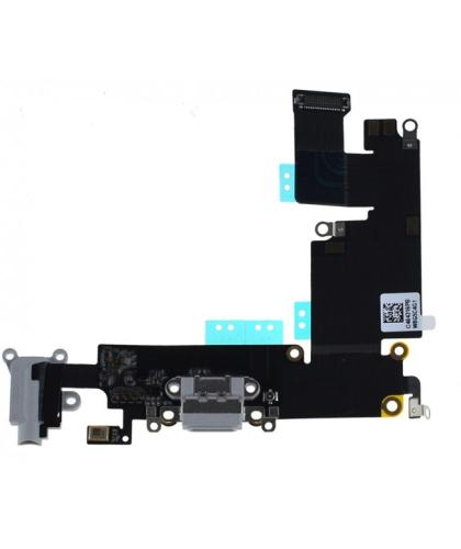 Flex Conector Carga Para Apple Iphone 6 Plus Blanca