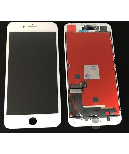 Pantalla Completa Display Lcd + Tactil Para Apple Iphone 8 Plus Blanca