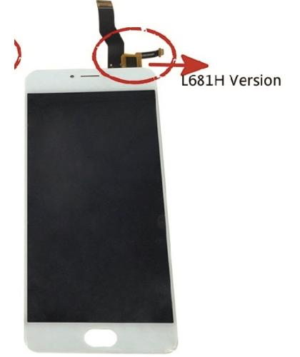 Pantalla Completa Display Lcd + Tactil Para Meizu M3 Note Version especal L681H Blanca