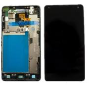 Pantalla Completa Display Lcd + Tactil Para LG Optimus G Negra