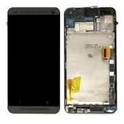 Pantalla Completa Display Lcd + Tactil + Marco Para HTC One M7 Negra